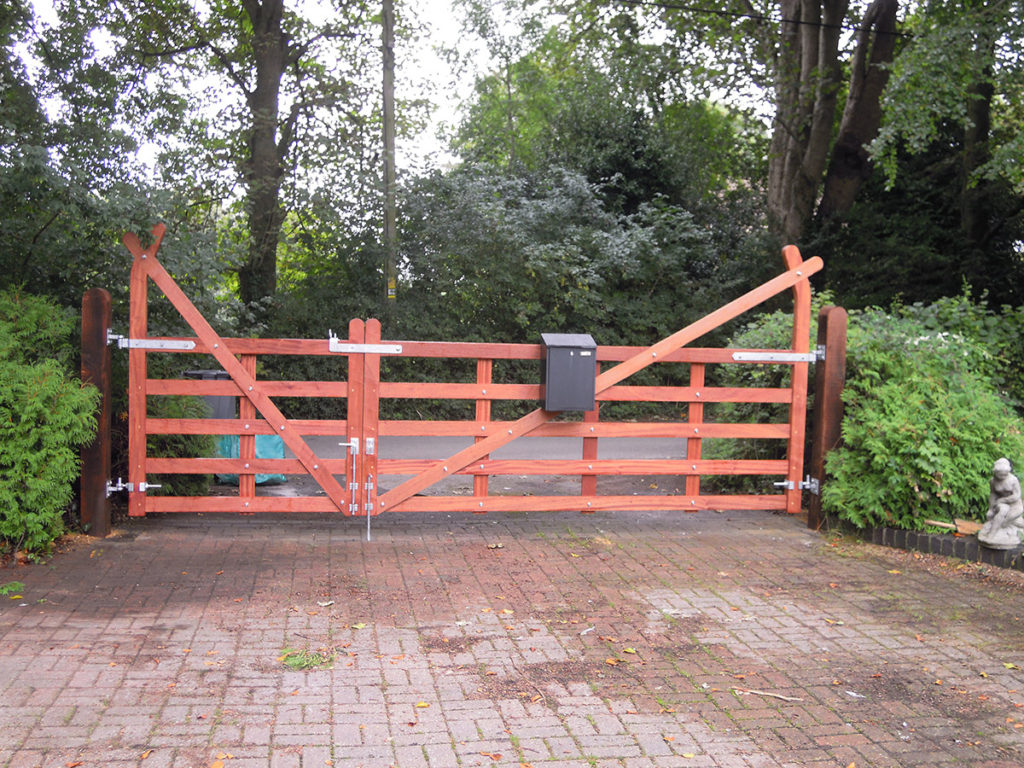 Custom Build Gates Gate Contractors Near Winchester And